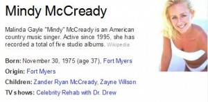 Mindy McCready Dead