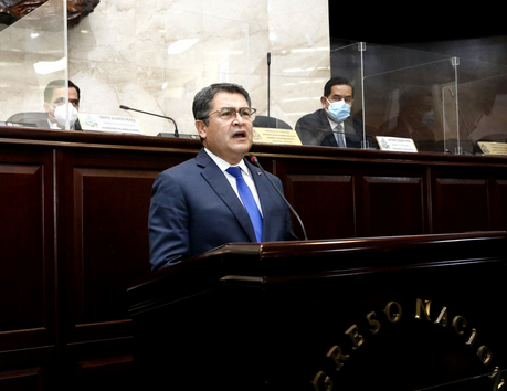 President of Honduras, Juan Orlando Hernández